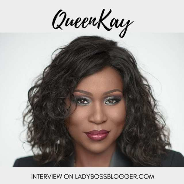 Female entrepreneur lady boss blogger QueenKay