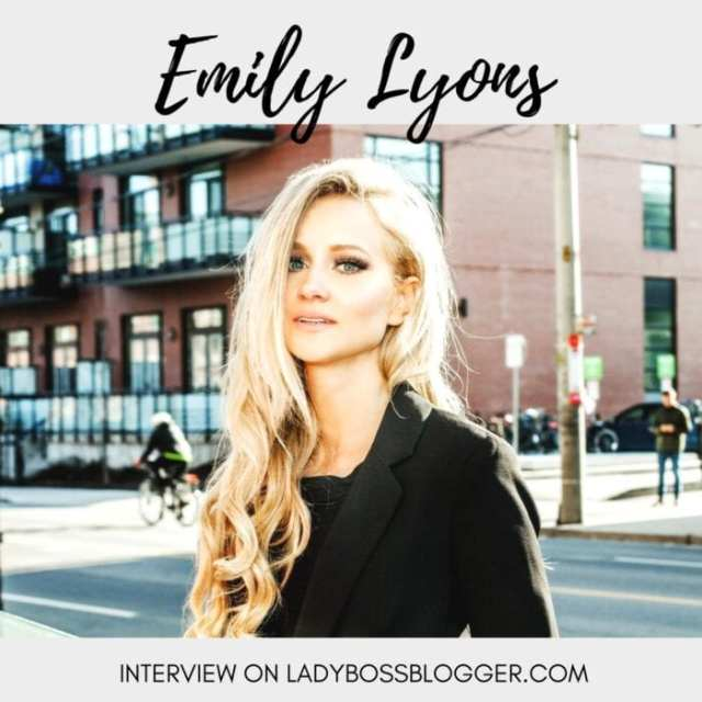 Female entrepreneur interview on ladybossblogger featuring Emily Lyons Femme Fatale Media