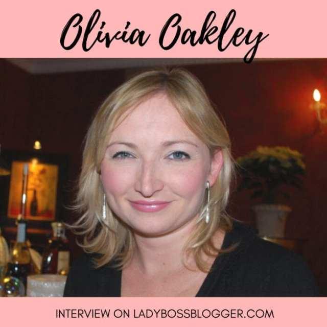 Female entrepreneur lady boss blogger Olivia Oakley