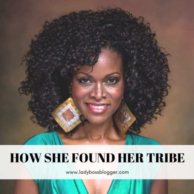 Female entrepreneur lady boss blogger Abiola Abrams