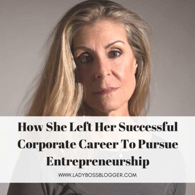 Female entrepreneur ladybossblogger Kim Boudreau Smith wellness blogger
