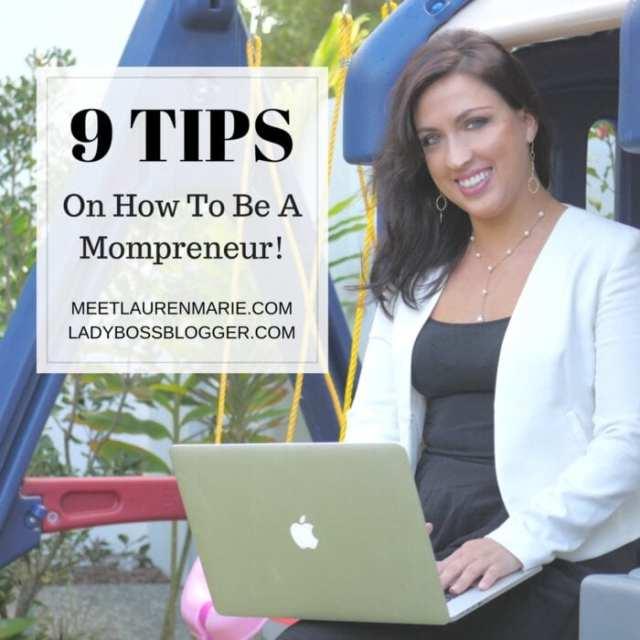 Female entrepreneur lady boss blogger Lauren Marie educator speaker