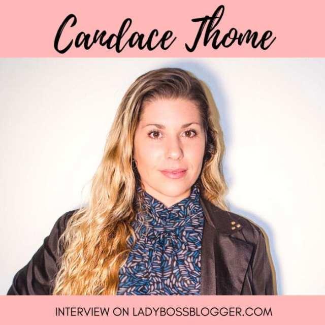 Female entrepreneur ladybossblogger Candace Thome SwimBrayV