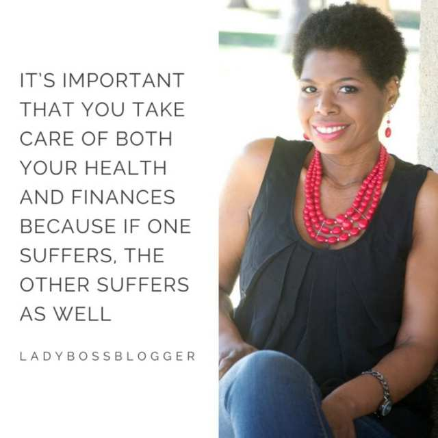 Female entrepreneur ladybossblogger Tiffany Stokes financial coach