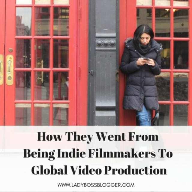 Female entrepreneur lady boss blogger Reema and Sania video production