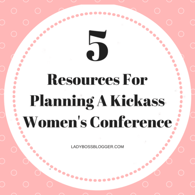 Entrepreneurial resources by female entrepreneur Jennifer Dziura on ladybossblogger women's conference