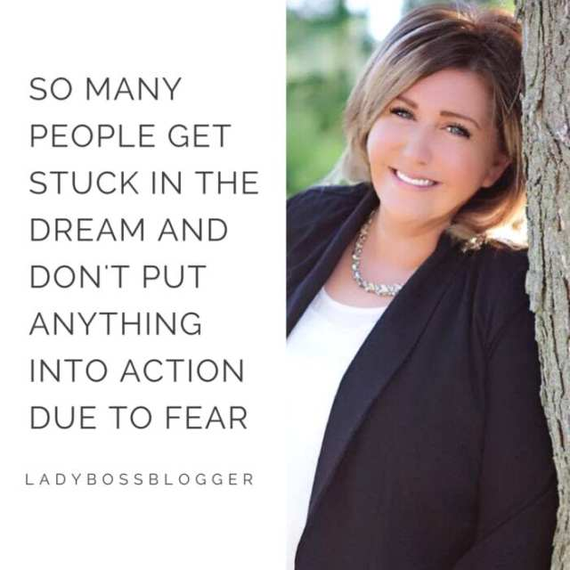 Female entrepreneur lady boss blogger Courtney Taylor psychic