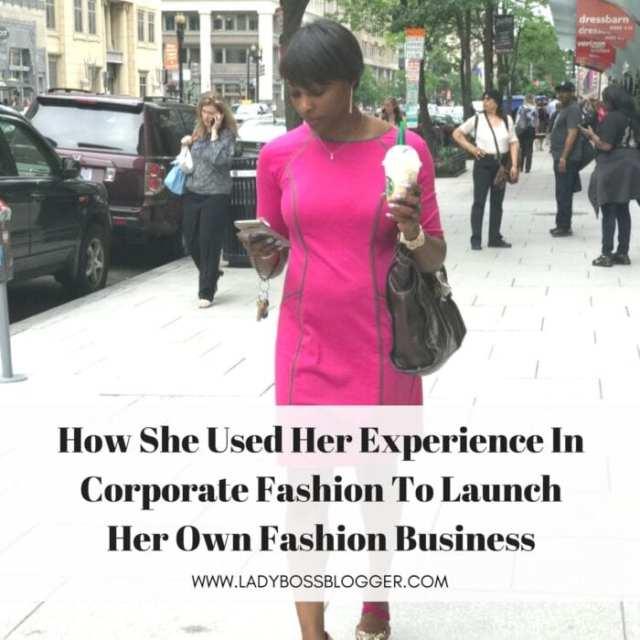 Female entrepreneur lady boss blogger Myra Skelton fashion jewelry line