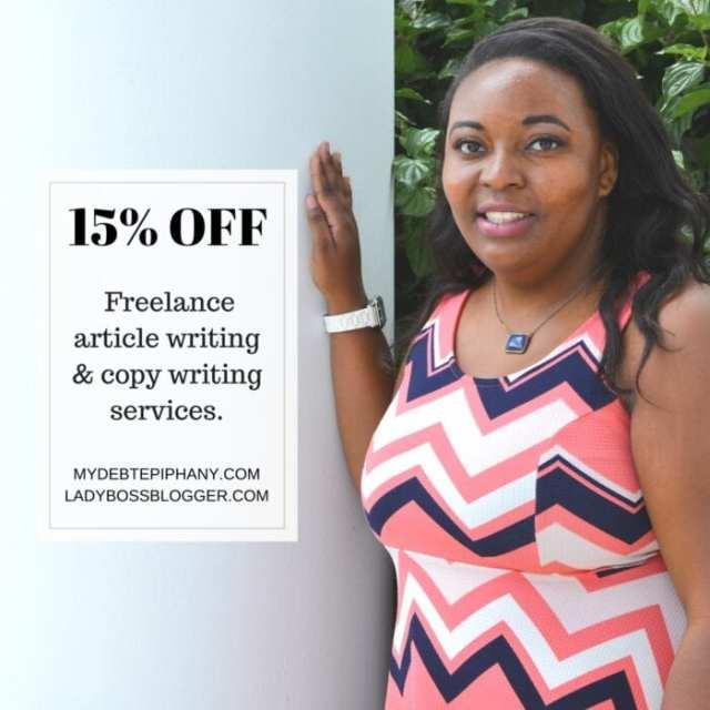 Female entrepreneur lady boss blogger Choncé Maddox financial coach