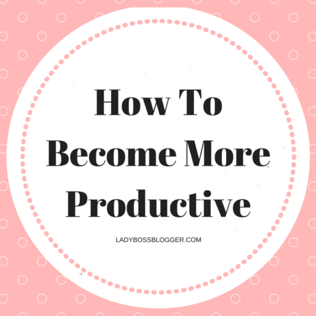 Entrepreneurial resources by female entrepreneurs on ladybossblogger How To Become More Productive