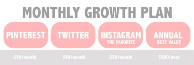 Monthly Growth Plan on ladybossblogger