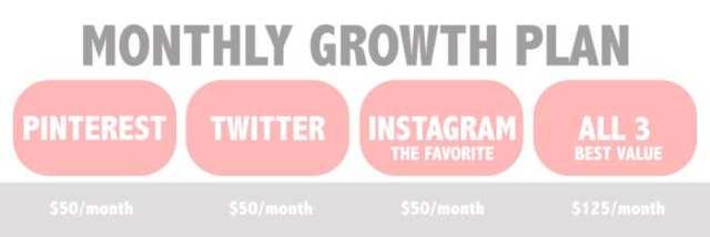 Monthly Growth Plan ladybossblogger