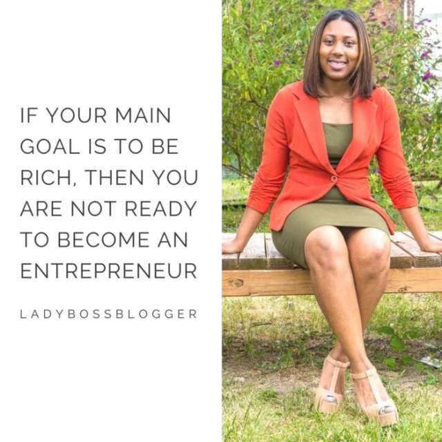 Female entrepreneur lady boss blogger Delrisha Hayes nonprofit for children at risk