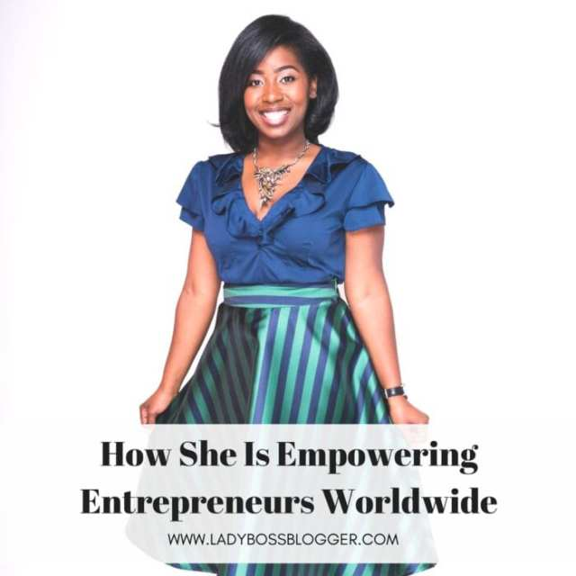 Female entrepreneur lady boss blogger Allyson Scrutchens entrepreneur