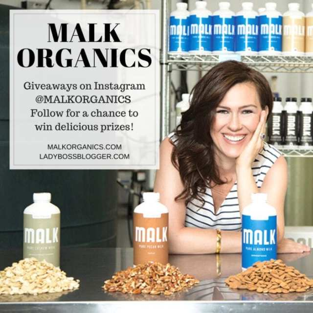 Female entrepreneur lady boss blogger August Vega organic milk alternative