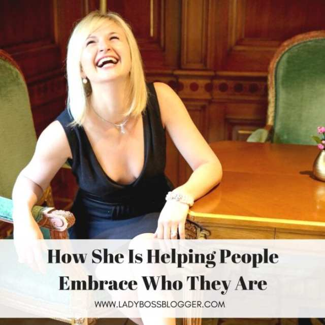 Female entrepreneur lady boss blogger Daria Hanson Joy of Business facilitator life and business coach