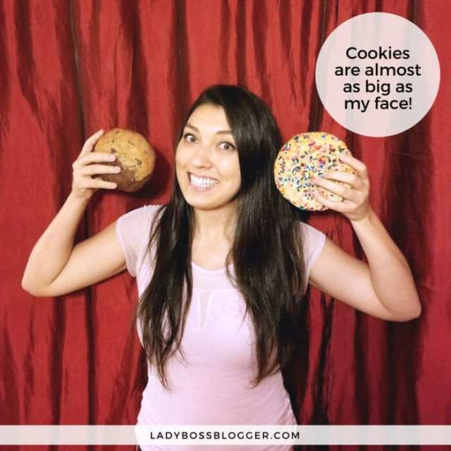 Chef Lisa's Cookie v.s. Hershey's Cookie review on ladybossblogger