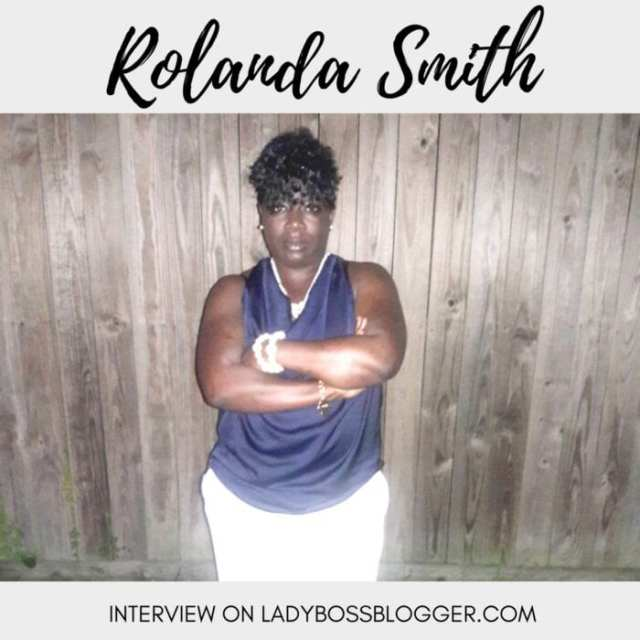 Female entrepreneur lady boss blogger Rolanda Smith Custom Sweets