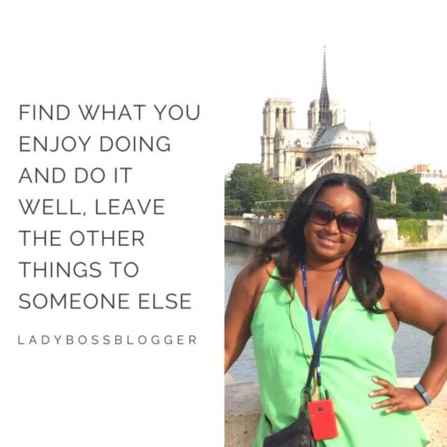 Female entrepreneur lady boss blogger Erica James Travel Agent