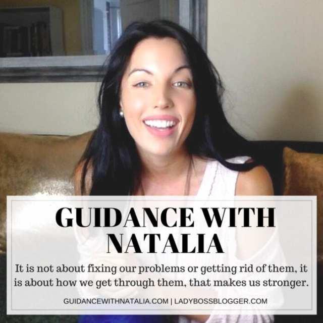 Female entrepreneur lady boss blogger Natalia Sofia counselor for women