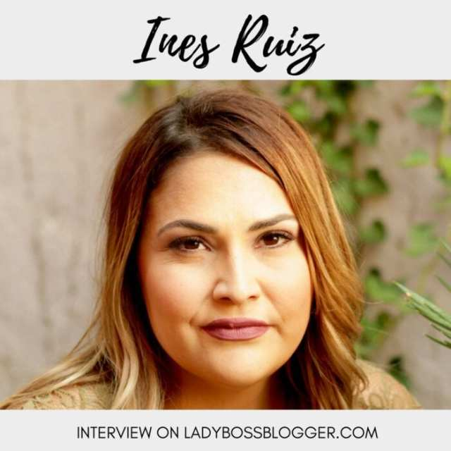 Female entrepreneur lady boss blogger Ines Ruis Women Entrepreneur Community