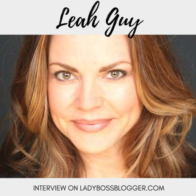 Female entrepreneur lady boss blogger Leah Guy trans-personal healer