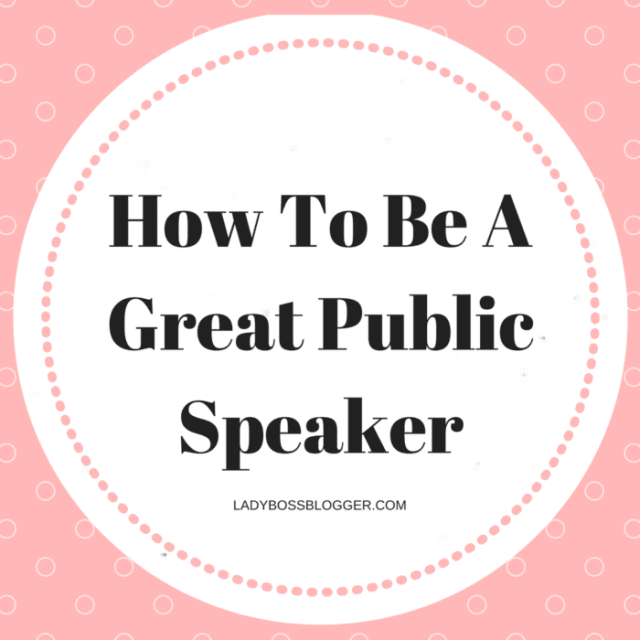 Entrepreneur resources and tips by female entrepreneurs written by Heather Monahan How To Be A Great Public Speaker