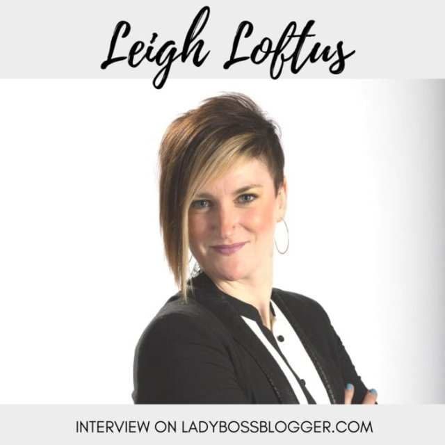 Female entrepreneur interview on ladybossblogger Leigh Loftus photographer