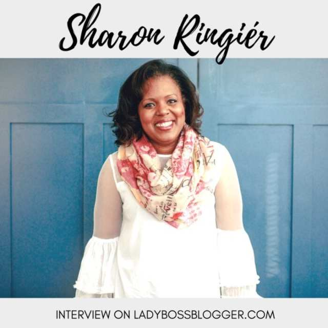 Female entrepreneur interview on ladybossblogger Sharon Ringiér Event Planner and host for Women's Empowerment Conferences