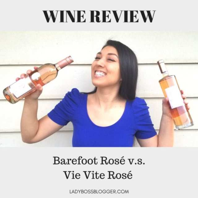 Wine review on ladybossblogger by Elaine Rau