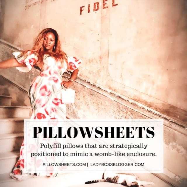 Female entrepreneur interview on ladybossblogger Nadia Galloway PillowSheets for better baby sleep