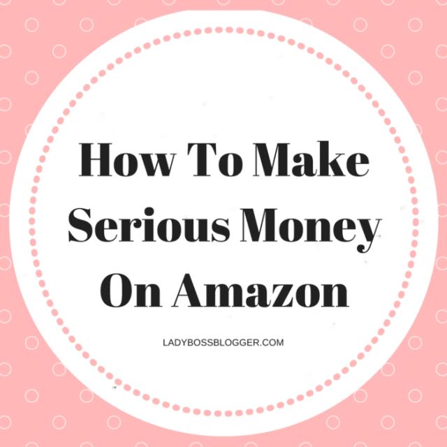 Entrepreneur resources and tips by female entrepreneurs written by Kavita Sahai How To Make Serious Money On Amazon
