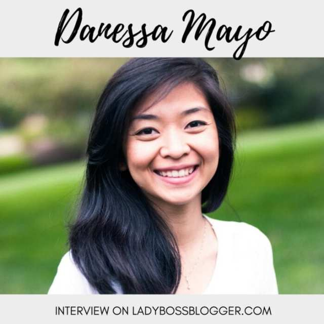 Female entrepreneur interview on ladybossblogger featuring Danessa Mayo artist