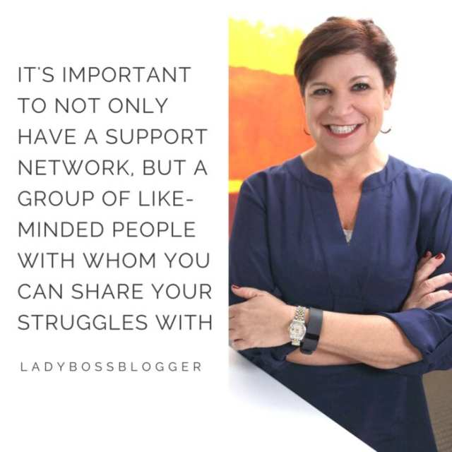 Female entrepreneur interview on ladybossblogger Deb Gabor brand coach