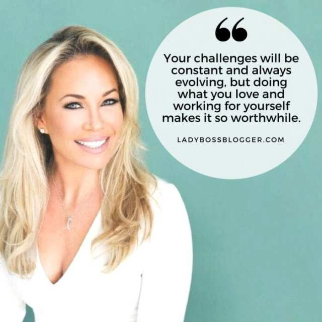 Female entrepreneur interview on ladybossblogger Heather Monahan women empowerment speaker and author