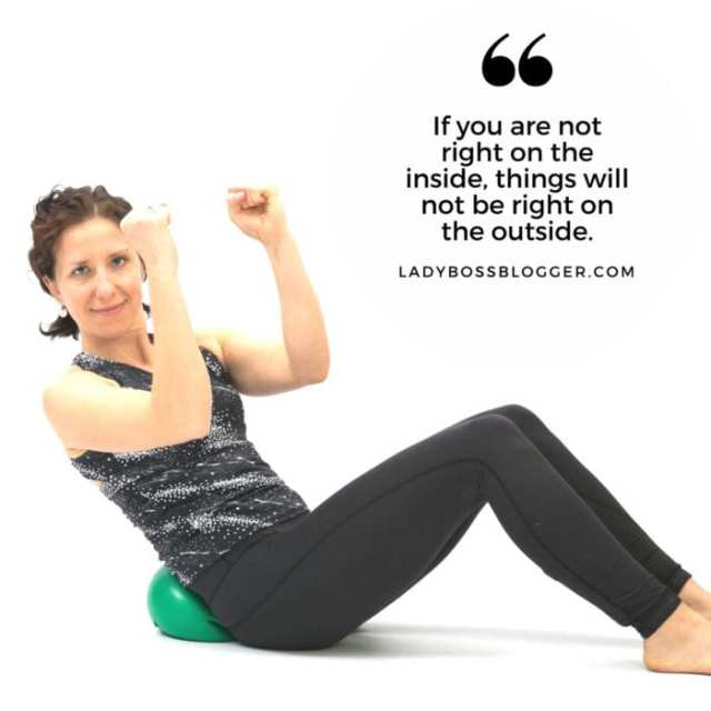 Female entrepreneur interview on ladybossblogger featuring Hope Zvara Yoga Teacher
