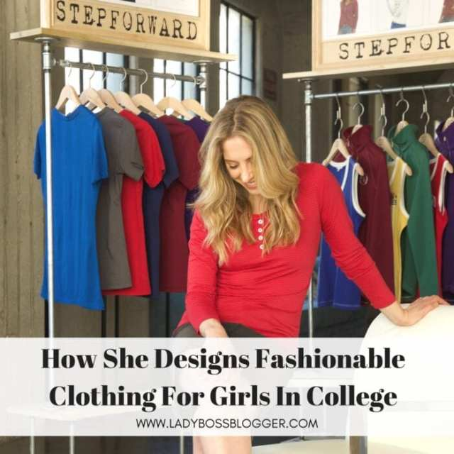 Female entrepreneur interview on ladybossblogger featuring Jesse Erin Designs Fashionable College Apparel