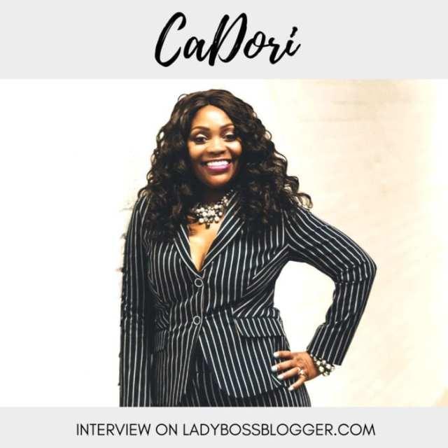 Female entrepreneur Interview on ladybossblogger CaDori