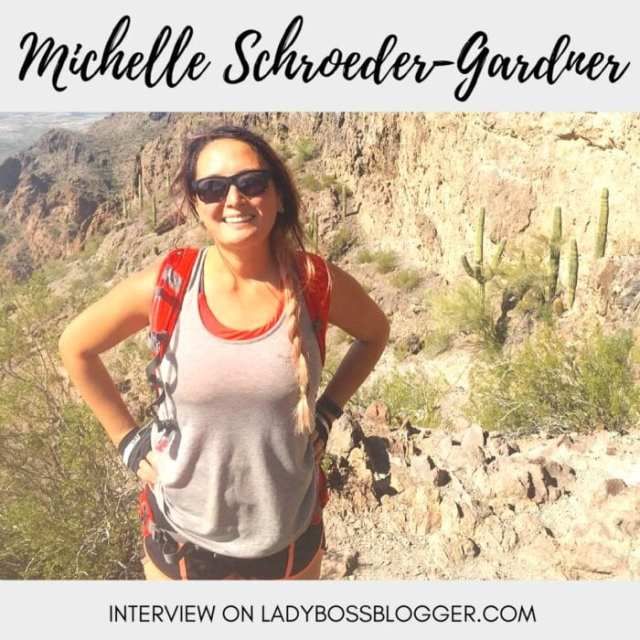 Female entrepreneurial Interviews on lady boss blogger featuring Michelle Schroeder-Gardner