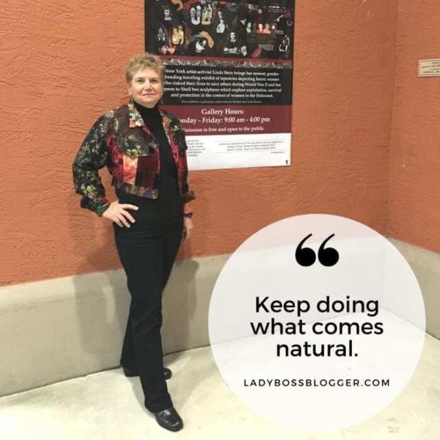 Female entrepreneur Interview on ladybossblogger Linda Stein