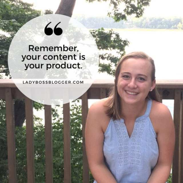 5 Ways To Write A Ridiculously Shareable Post written by Bethany Peterson on LadyBossBlogger.com