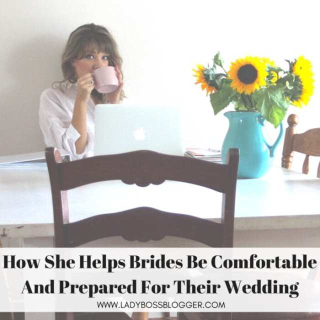 Jemma Payne Keeps Brides Calm And Comfortable Throughout The Entire Wedding Process