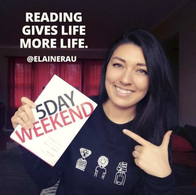 How To Live A 5 Day Weekend written by Elaine Rau founder of LadyBossBlogger.com