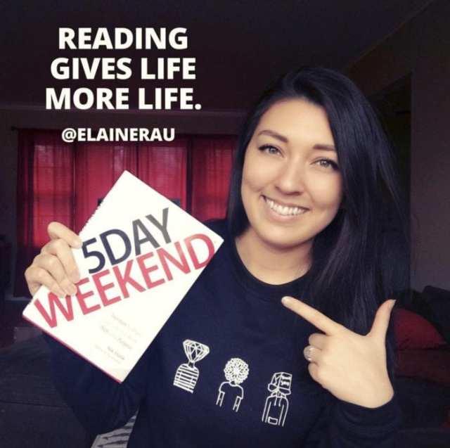 Elaine Rau and 5 Day Weekend