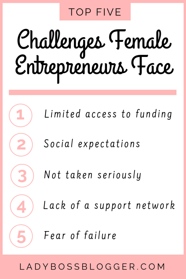 Challenges Female Entrepreneurs Face