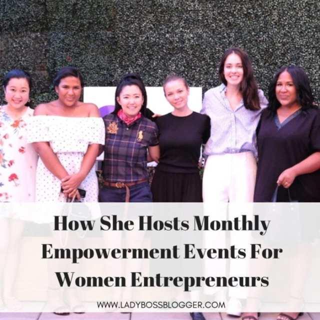Lana Pozhidaeva Hosts Monthly Empowerment Events For Women Entrepreneurs