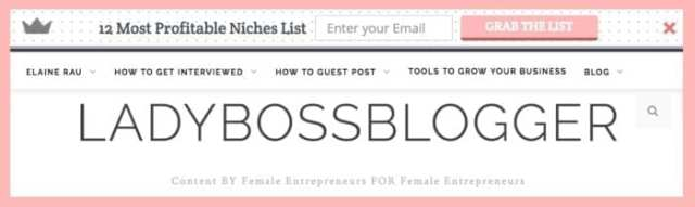 Proven Ways To Grow Your Email List ladyBossBlogger.com