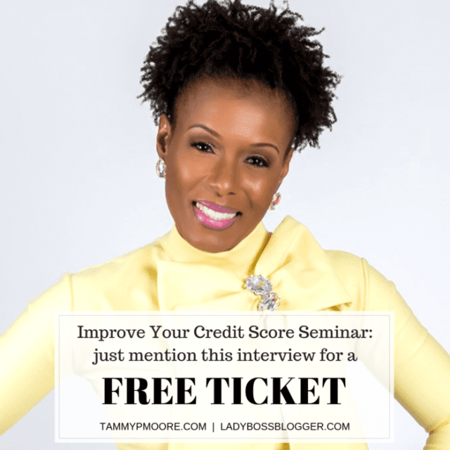 Tammy Moore Improves Credit Scores To Help People Become Homeowners