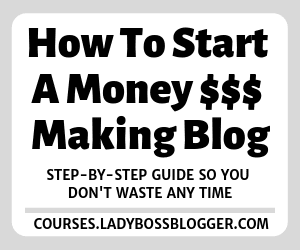 How To Start A Money $$$ Making Blog (1)