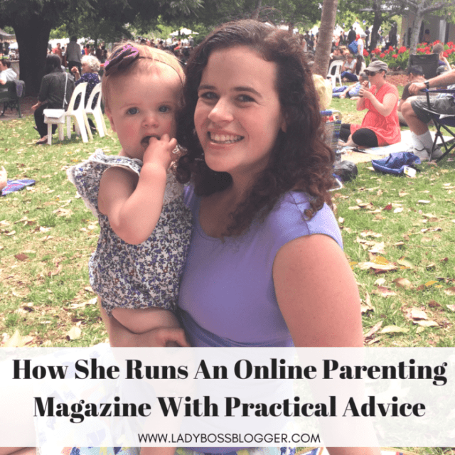 Felicity Frankish Runs An Online Parenting Magazine With Practical Advice